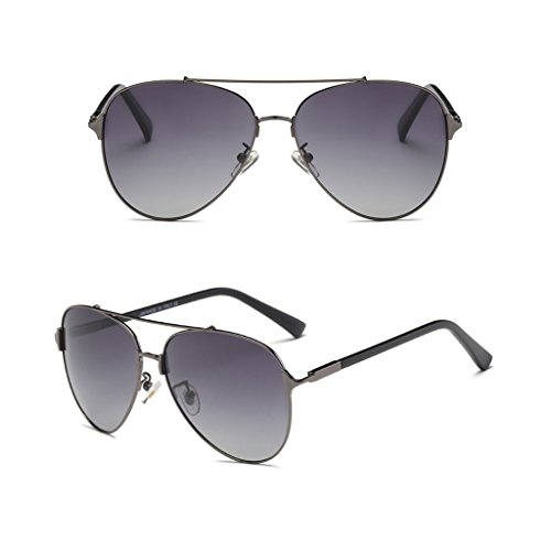 Grey Anti Dark a UV Light Driver Polarized lele de Mirror Sol vértigo Resistente Fashion los Ai Gafas aOpqWR