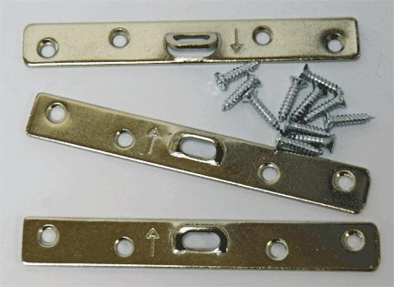 (Extra Heavy Duty Large 4 Hole Super Steel Picture Hanger (20 Pack) With Screws)