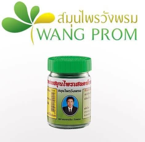 Best Seller! THAI HERBAL WANGPHROM BALM (50 G.)