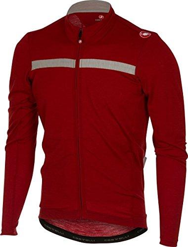 Castelli Costante Jersey - Men s Ruby Red Luna Grey d882b33c0