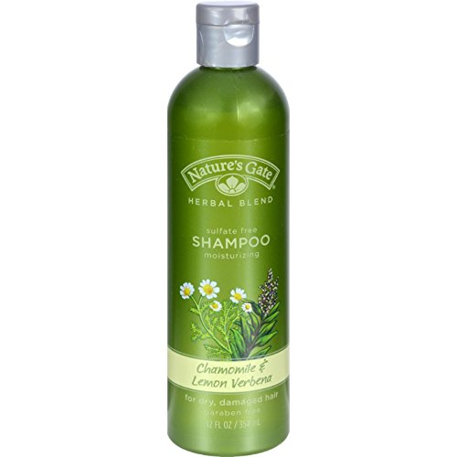 Natures Gate Shampoo Chamomile and Lemon Verbena - 12 fl oz - Lemon Verbena Natures Gate
