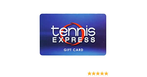 Amazon Com Tennis Express Gift Card 10 Gift Cards