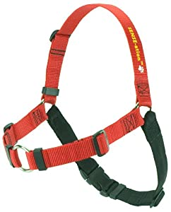 SENSE-ation No-Pull Dog Harness - Medium/Large (Wide) Red with Black