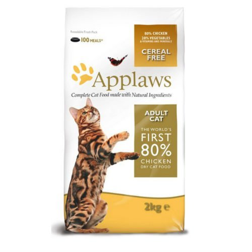 Image of Applaws Natural Complete Adult Cat Dry Food Mix with Chicken 2kg
