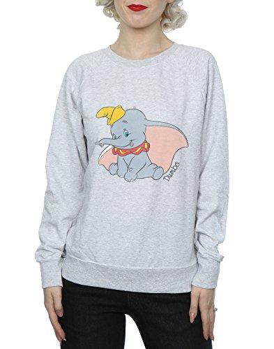 Cuero De Disney Dumbo Camisa Mujer Classic Gris Entrenamiento wP7qzY