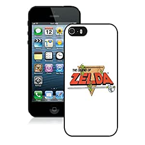 Fashionable And Unique Designed With Zelda NES Cover Case For iPhone 5S Black Phone Case CR-701