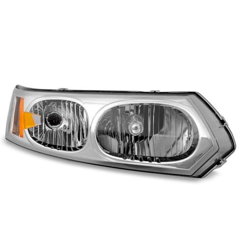 (Jdragon for Saturn 2003-2007 Ion 4dr Sedan Replacement Headlight Passenger/Right Side 1 2)
