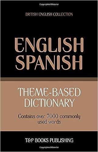 Theme-based dictionary British English-Spanish - 7000 words (British English Collection)