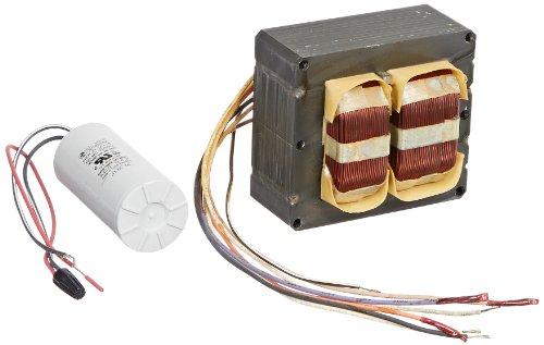 QT Metal Halide and Pulse Start Ballast Kit, 400W Power, Quad Tap ()