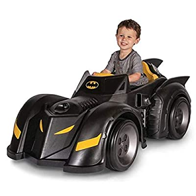 BATMAN Batmobile 6-Volt Battery-Powered Ride-On: Toys & Games