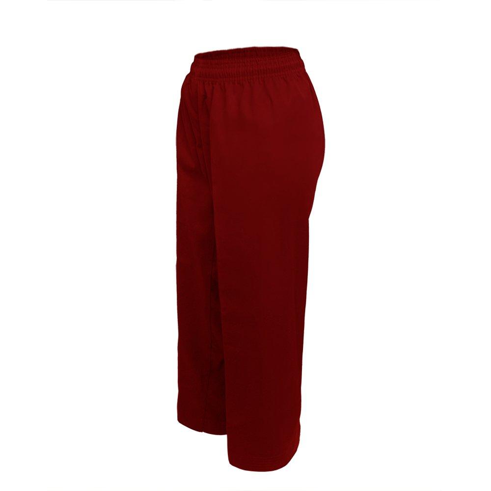 TOPTIE Middleweight Karate Student Elastic Waist Pants /& Uniform Set