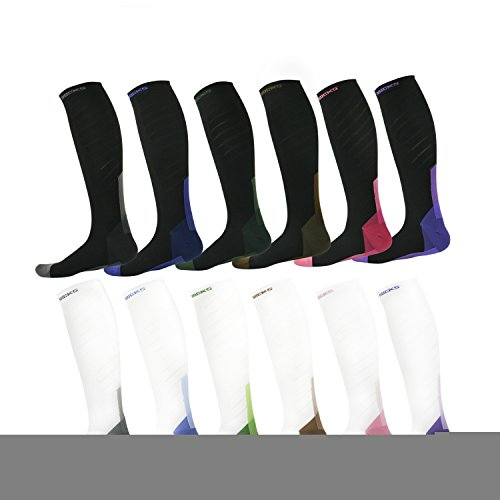 Nurses 30 Green Athletic Fit Flight Pregnancy Socks Men For Pair Socks Travel Graduated Fashion Sports Best 1 VENI Running Of Pack Design for Compression MASEE mmHg 20 Students amp;Women agqxwZfIH
