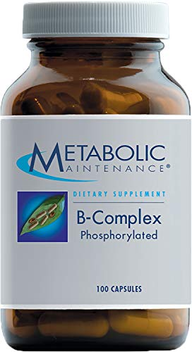 Metabolic Maintenance B-Complex Phosphorylated, with Methyl B12 and Methylfolate (5-MTHF), 100 Capsules For Sale