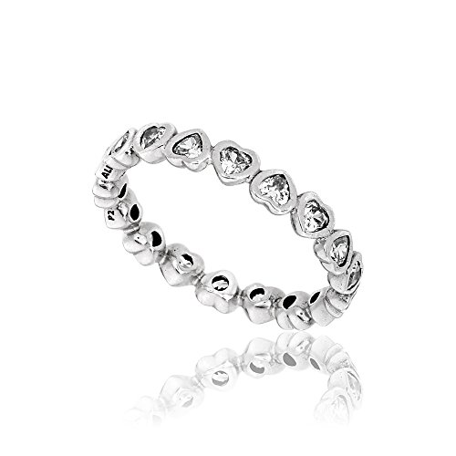 (Pandora 190897CZ Forever More Ring, Size 8)