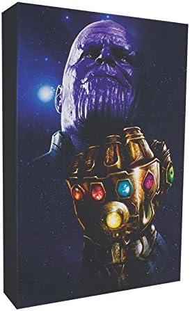 Marvel Avengers Infinity War Luminart Thanos Light Up Wall Art Amazon Ca Home Kitchen