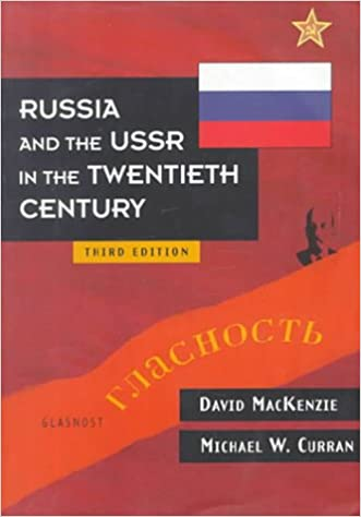 Book Russia and the USSR in the Twentieth Century