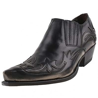 Sendra Boots - Mocasines de cuero para hombre negro negro, color negro, talla 45: Amazon.es: Zapatos y complementos