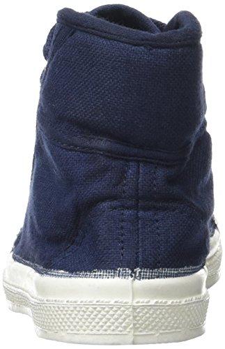 Bensimon Tennis Mid Enfant, Zapatillas Altas Unisex Niños azul (Marine)