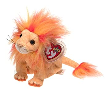6def8065a43 Image Unavailable. Image not available for. Color  Ty Beanie Babies - Bushy  the Lion