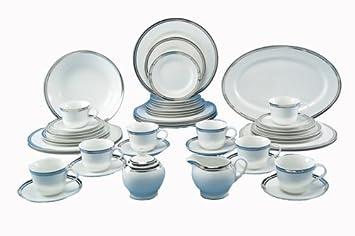 Royal Doulton Pure Platinum 45-Piece Dinnerware Set Service for 8  sc 1 st  Amazon.com & Amazon.com   Royal Doulton Pure Platinum 45-Piece Dinnerware Set ...