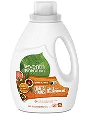 Seventh Generation Liquid Detergent, Fresh Citrus, 1.47L