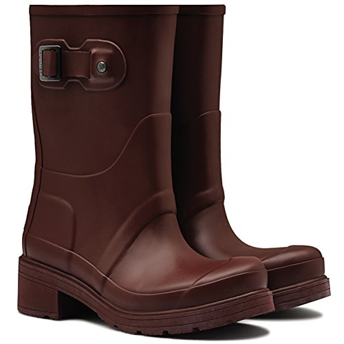 Umber Hunter Original Winter Boots Ankle Womens Heel Low Boot Rain Wellingtons v1UwAq