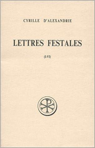 En ligne LETTRES FESTALES. Lettres 1 à 6, Edition bilingue français-grec pdf, epub ebook