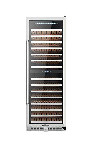 Thor Kitchen 24'' Wine Cooler 155 Bottle Dual Zone Built-in and Freestanding with Stainless Steel (HWC2403U)