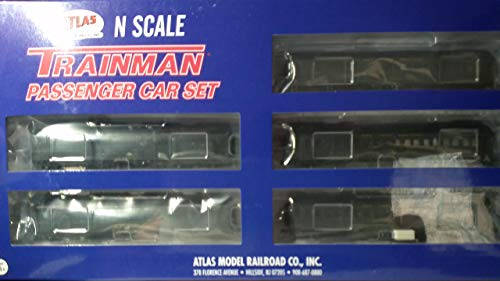 N TMAN 60' Passenger CAR 5-PK New York Central [Baggage #7879, RPO #4868, Combine #2772, Coach #2160 & Coach #2141]