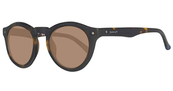 Amazon.com: Gant GA 7045 52E Dark Havana/marrón anteojos de ...