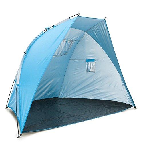 Cabana Portable Shelter : Icorer easyup outdoor portable beach cabana tent sun