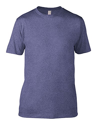 Anvil 450 Eco-Friendly Adult Sustainable Tee - Heather Blue, Large