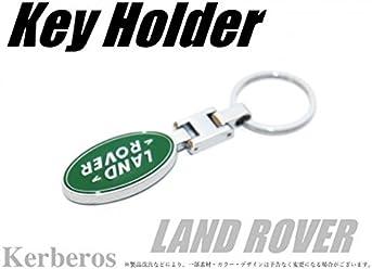 LAND ROVER キーホルダー 両面ロゴ 【AK-KEY-055】