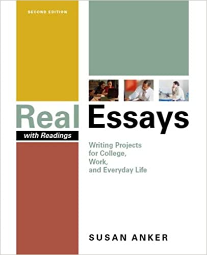 real essays with readings bedford Buy real essays with readings 4th edition real essaysdelivers the powerful message that good writing bedford books published: 2012.