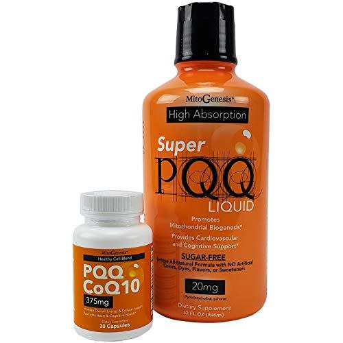 Super Liquid PQQ CoQ10 Capsule Bundle