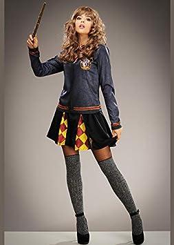 Disfraz de Gryffindor Estampado Estilo Hermione Granger para ...