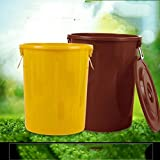 Outdoor Trash Cans Large Capacity Indoor/Outdoor