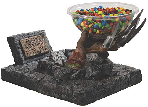 Rubie's Costume 68598 Nightmare on Elm Street Freddy Candy Bowl Holder Statue