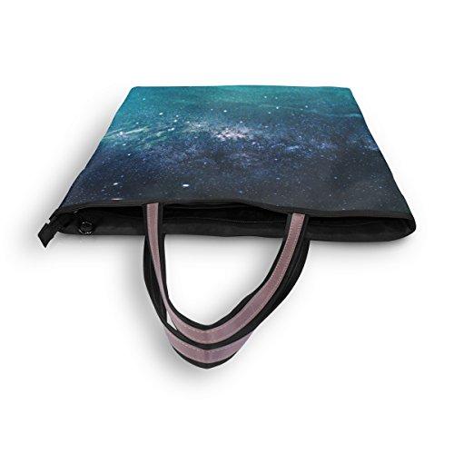 Sac Grand Fourre À Alaza D'épaule Nebula Main Galaxy Univers tout Etoiles SdqOOF8