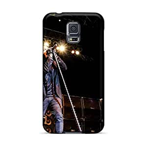 Scratch Resistant Cell-phone Hard Covers For Samsung Galaxy S5 (qBM12362OslR) Allow Personal Design High-definition Avenged Sevenfold Series