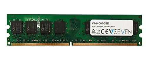 (V7 V764001GBD 1GB DDR2 800MHz CL6 Non ECC DIMM PC2-6400 1.8VLeg Internal Memory)