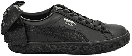 PUMA Shoes Basket Bow Animal WN Black/Silver Size: 37