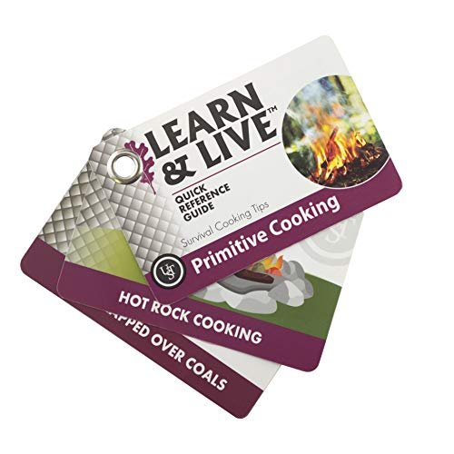 UST Learn & Live Educational Card Set with Durable, Waterproof, Compact Design and Essential Outdoor Skills for Hiking, Camping and Outdoor Survival from UST