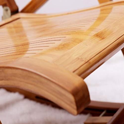 Amazon.com: Silla reclinable Nan de bambú plegable para ...
