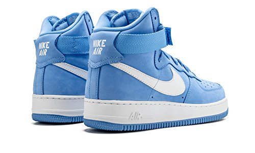 nike air force 1 HI retro QS mens hi top trainers 743546 sneakers shoes University Blue Summit White 400 for sale online cheap authentic outlet buy cheap 2014 new cheap shop UQTsI