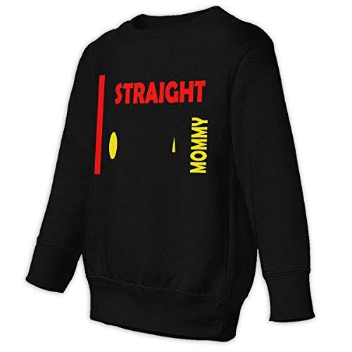 Xgbb Straight Outta Mommy Toddler Long Sleeve Pullover Sweatshirt Little Boys' Sweatshirt Black 3T]()
