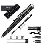 Tactical Self-Defense Pen LED Tactical Flashlight, Bottle Opener, Window Breaker   Multi-Tool for Everyday Carry Survival Gear   Military, Police   Boxed Extra Ink by Tactic Ops
