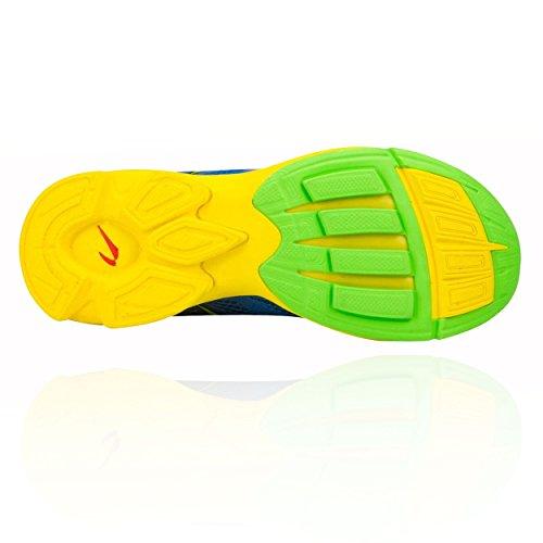 Newton Running Womens Distance Elite Blue/Green Sneaker 9.5 B (M) PVNke