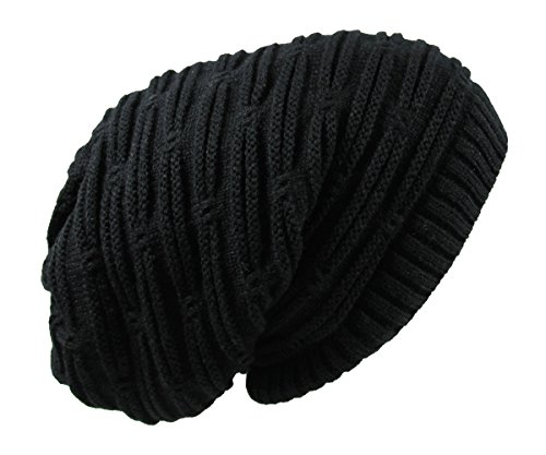 RW Rasta Stretch Long Beanie Hats