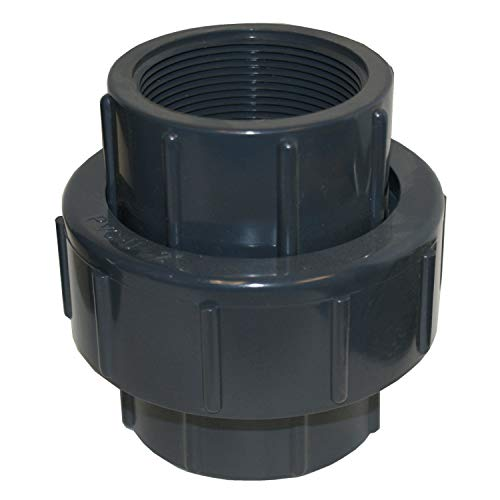 - ERA Sch 80 PVC 2 Inch Union (NPT Thread)